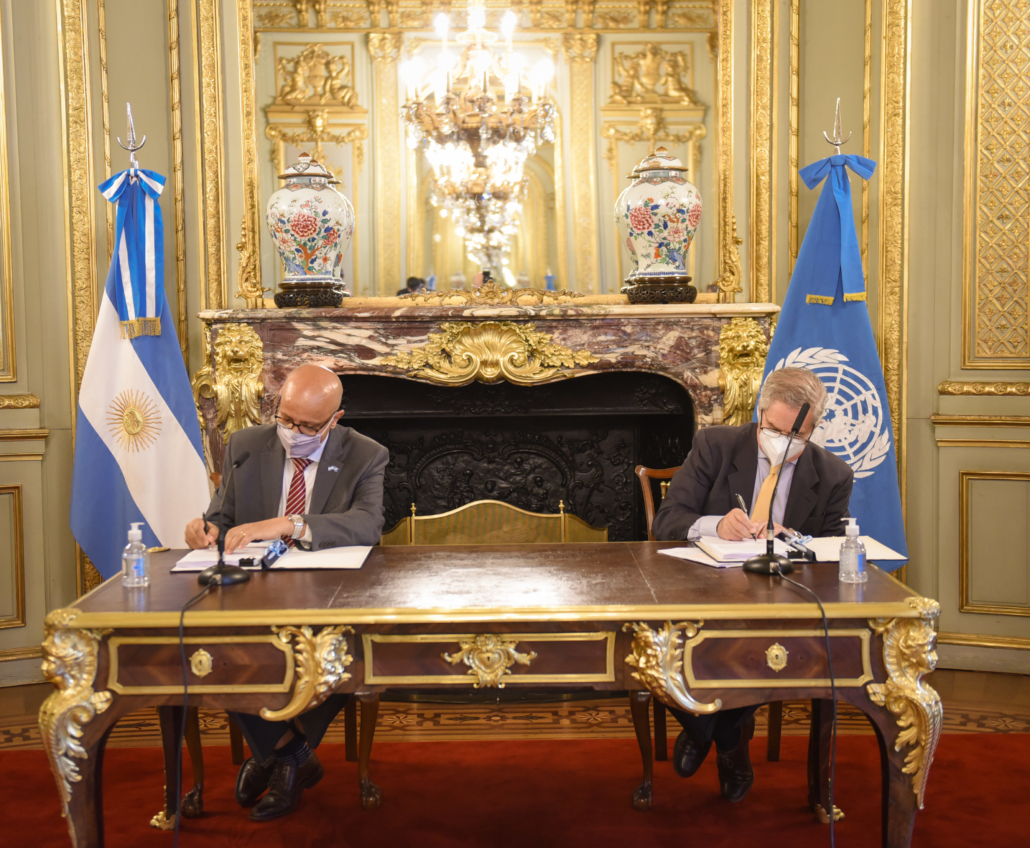 Marco Estratégico de Cooperación del Sistema de Naciones Unidas para el Desarrollo con la República Argentina (MECNUD) 2021-2025
