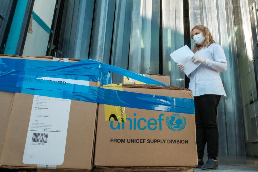 UNICEF entregó tratamientos nutricionales y medicinales para contener la emergencia sociosanitaria en Salta