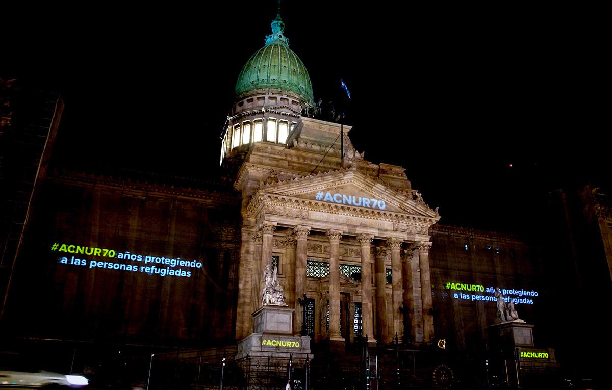70 años de ACNUR: la historia de millones en los edificios de Buenos Aires