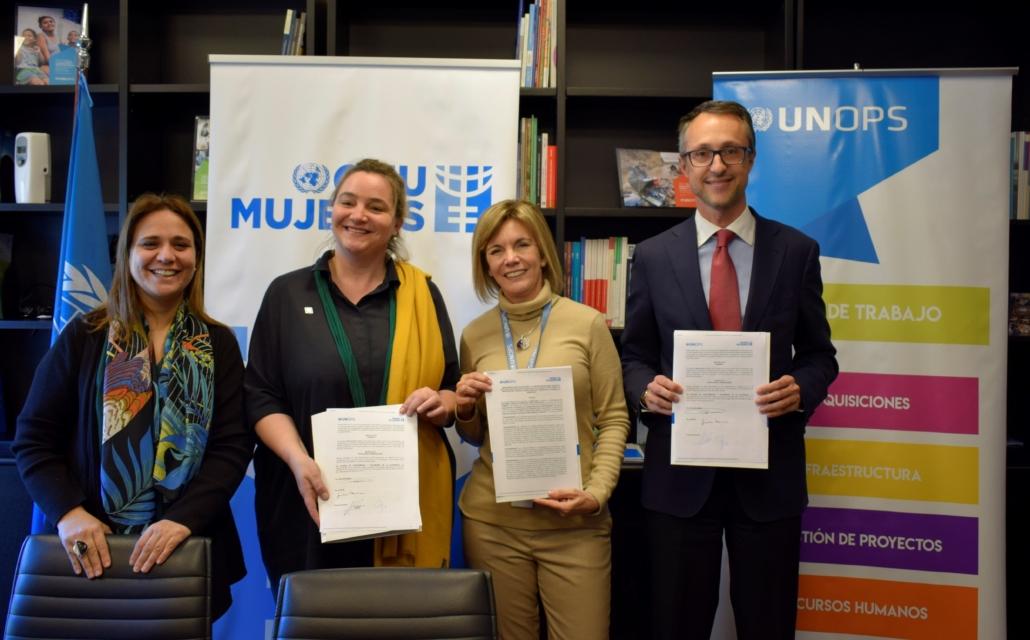 ONU Mujeres, UNOPS y el Ministerio del Interior fortalecen perspectiva de género en infraestructura social