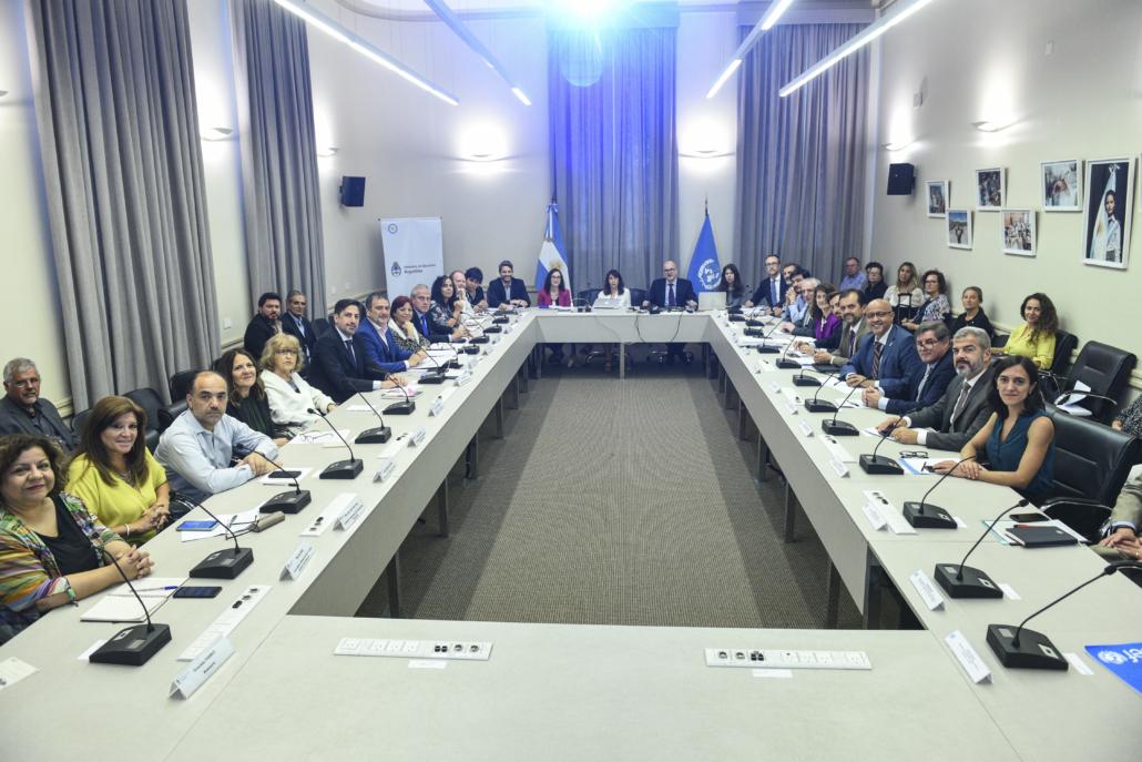 Agencias, Fondos y Programas de la ONU se reúnen con el Ministro de Educación de la Nación