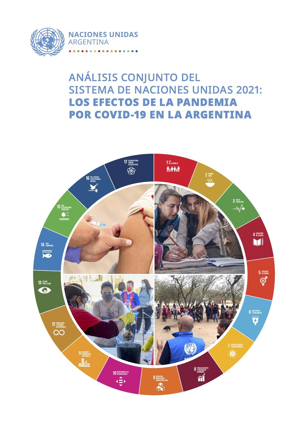 Análisis conjunto del Sistema de Naciones Unidas 2021: Los efectos de la pandemia por COVID-19 en la Argentina