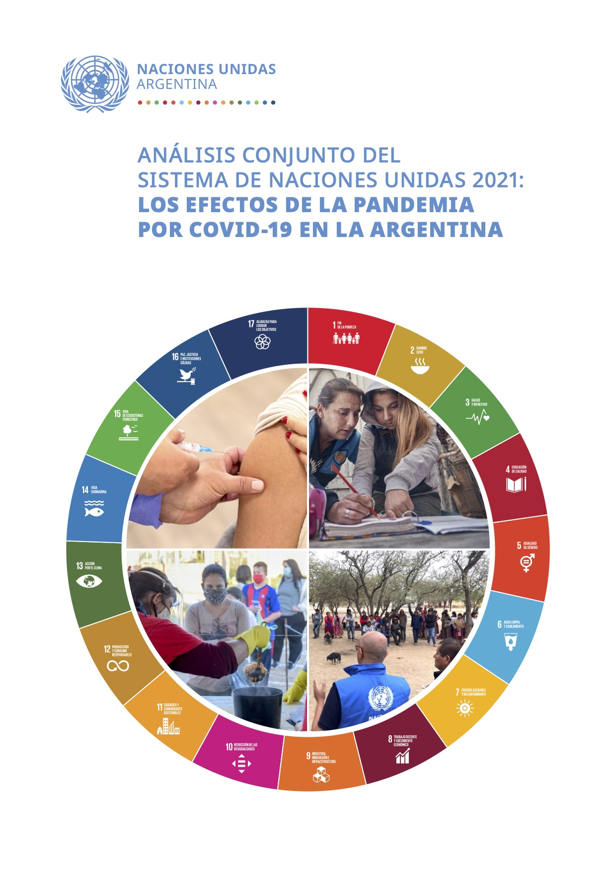 Los efectos de la pandemia por COVID-19 en la Argentina, ONU ARGENTINA publicó el CCA 2021